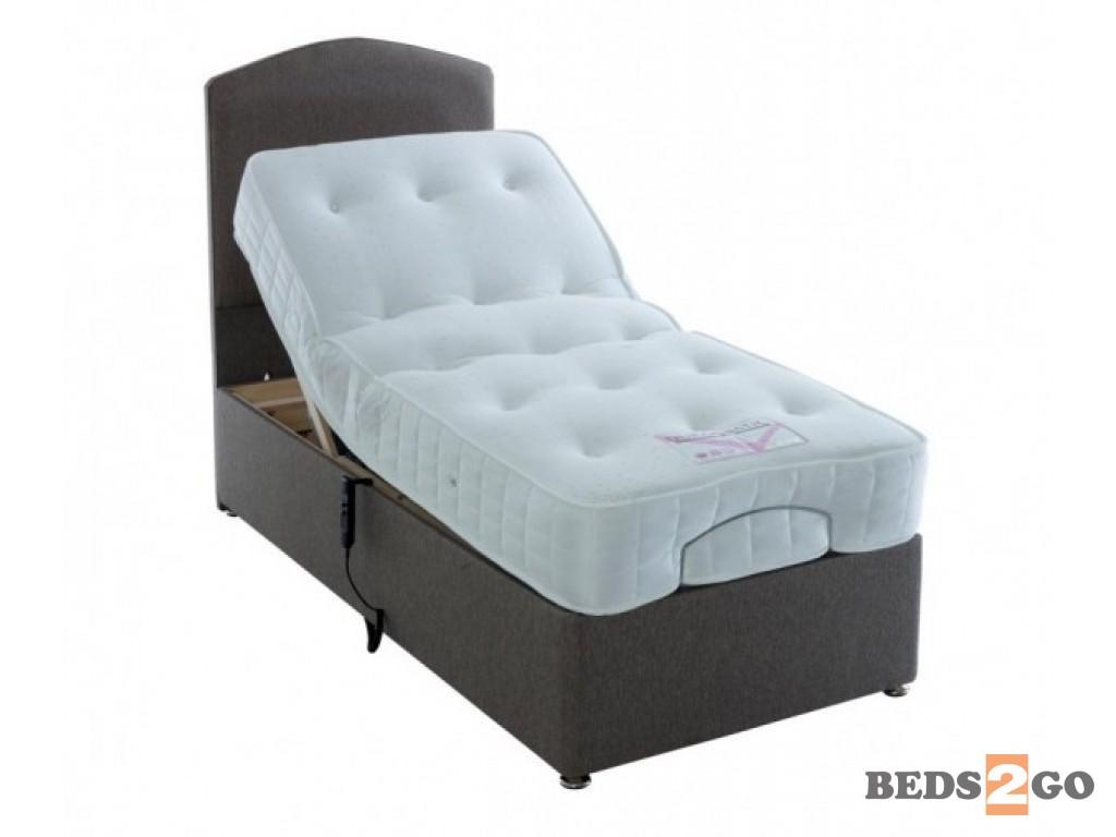 Duramatic Pocket Sprung Adjustable Divan Beds2go East